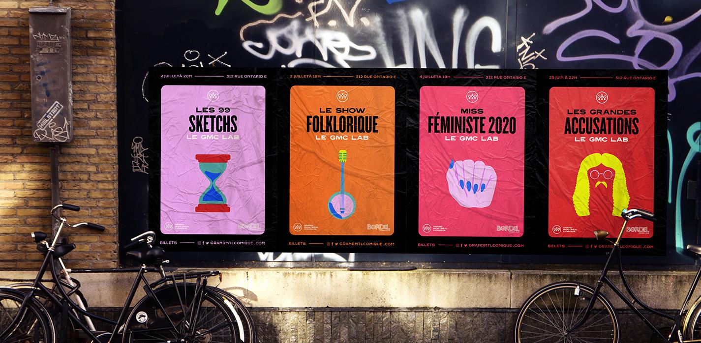 grand montréal comique posters