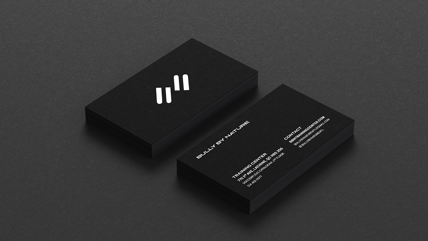 bully by nature business cards