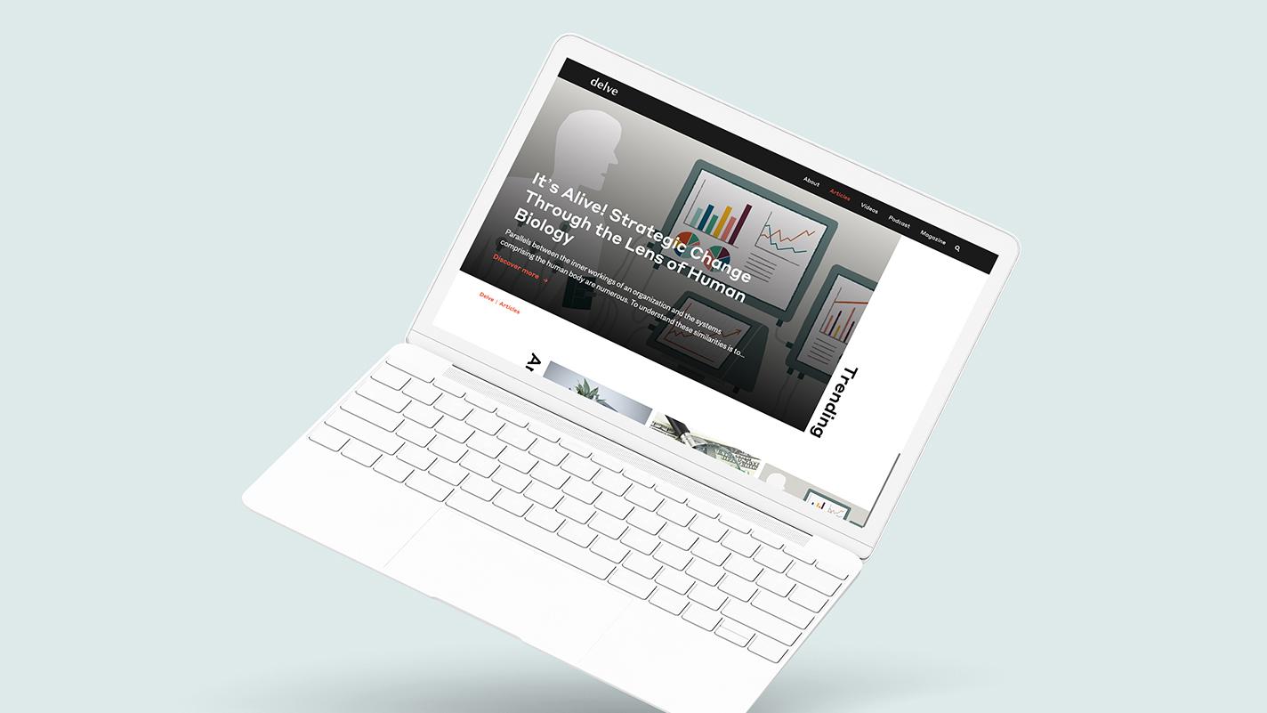 Delve website McGill